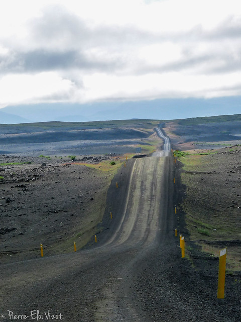 On the road to the space - Iceland