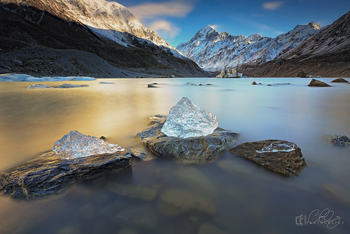 longexposure newzealand ice sunrise landscape photography photo ngc southisland mountcook hookervalley perfectexposure 500px