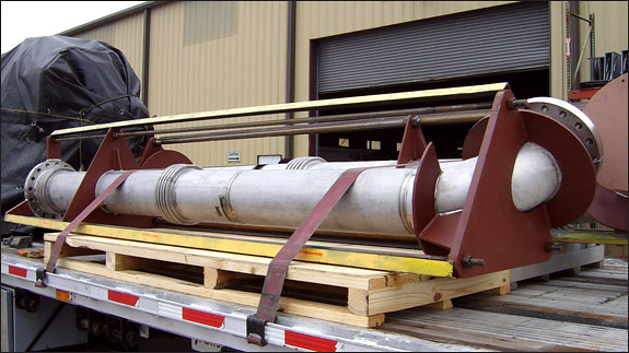 Tied Universal Expansion Joints Designed for a Nitrogen Plant