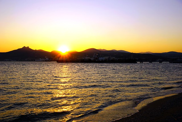 Otra puesta del sol - Another sunset