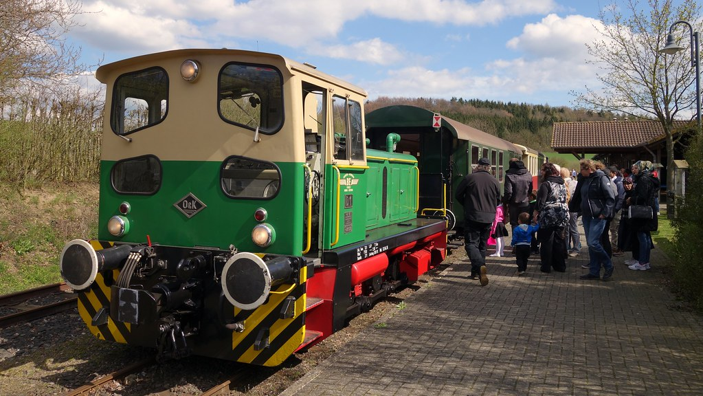 Brohltalbahn Germany 2016 - Volcano Express