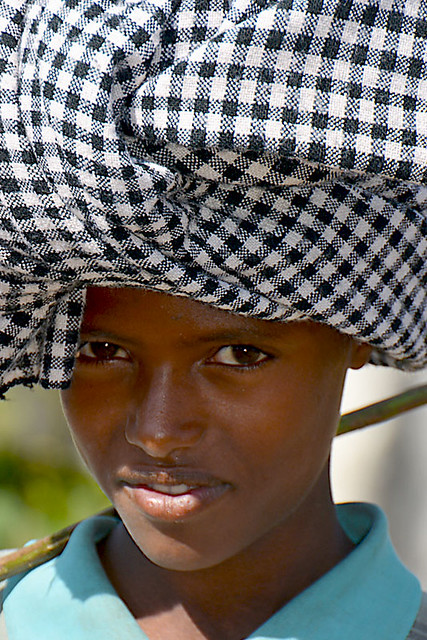 4297portrait of a young sheperd Ethiopia