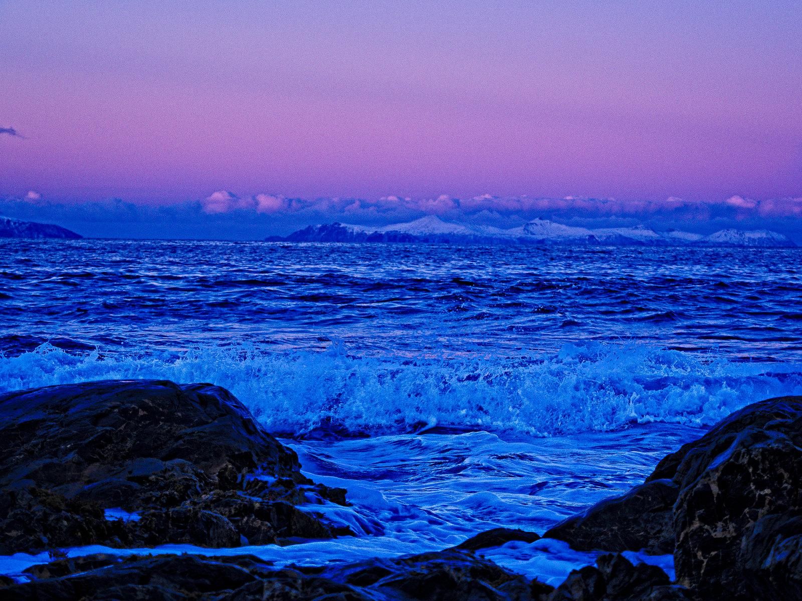 Winter waves-