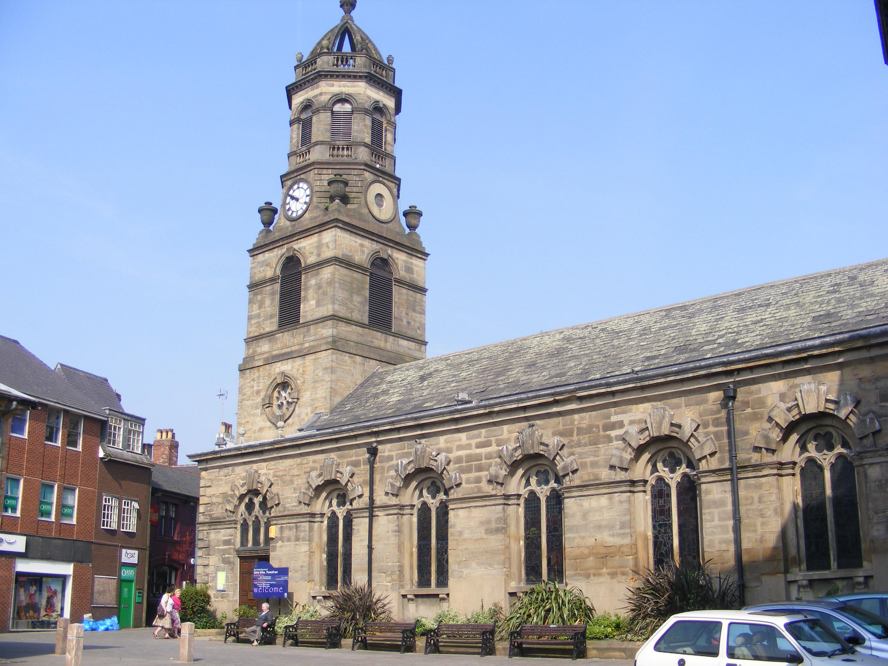 St Giles, Pontefract, Yorkshire (2010)