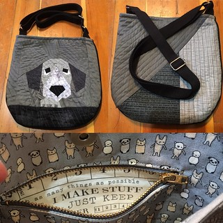 Peeping Puppy Trail Tote