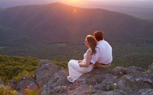 sunset mountain evening virginia rocks outdoor anniversary blueridge ravensroost