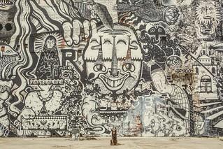 Noni by her fav mural | by Matt Henry photos