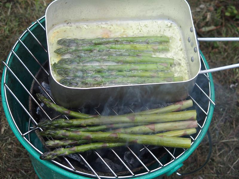 Battle of the asparagus