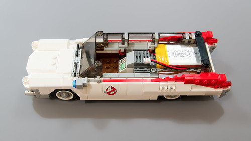 Lego Ghostbusters Ecto-1 Light Mod 14   by M600