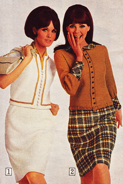 Sears 66 fw casual skirtsuits