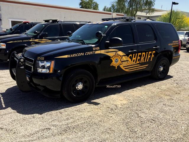 Maricopa County Arizona Sheriff, Chevy Tahoe