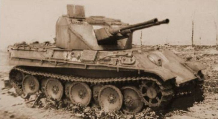 "German ""Flakpanzer Coelian"""