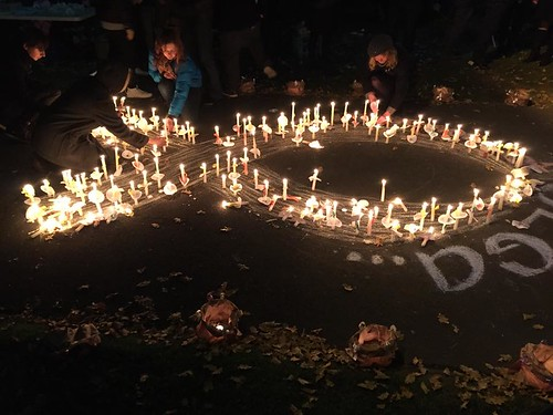 Rise for Olga Vigil tonight - together we can break the silence | by jacquiepetrusma
