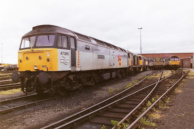 BRITISH RAIL 47365 DIAMOND JUBILEE