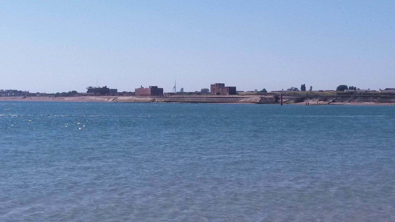 20160719_152404 Fort Cumberland and Eastney beach