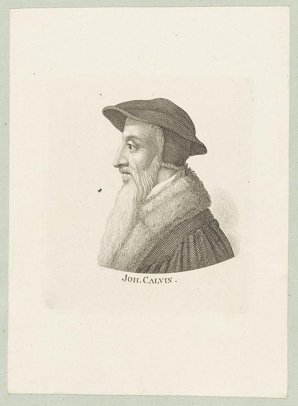 Bildnis des Joh. Calvin