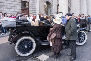 1915 COMES ALIVE IN DUBLIN CITY CENTRE [The 'Road to the Rising'] REF-103195