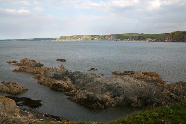 Bigbury from Burgh Island