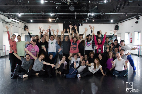Clase inclusiva en el Conservatorio Superior de Danza de Madrid