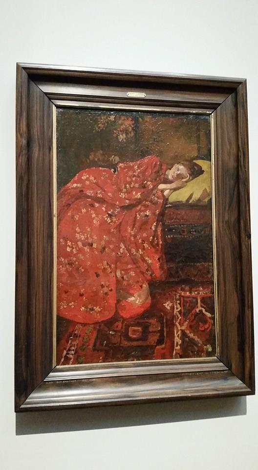 Breitner's Girl in a Kimono series