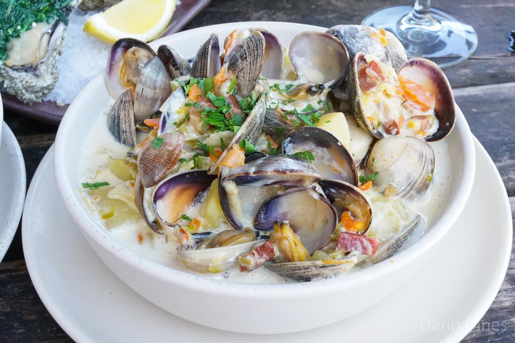 hog island clam chowder