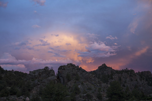 sunset storm mountains landscape colorado scenic canyon thunderhead wondersofnature earthnaturelife brownscanyonnationalmonument