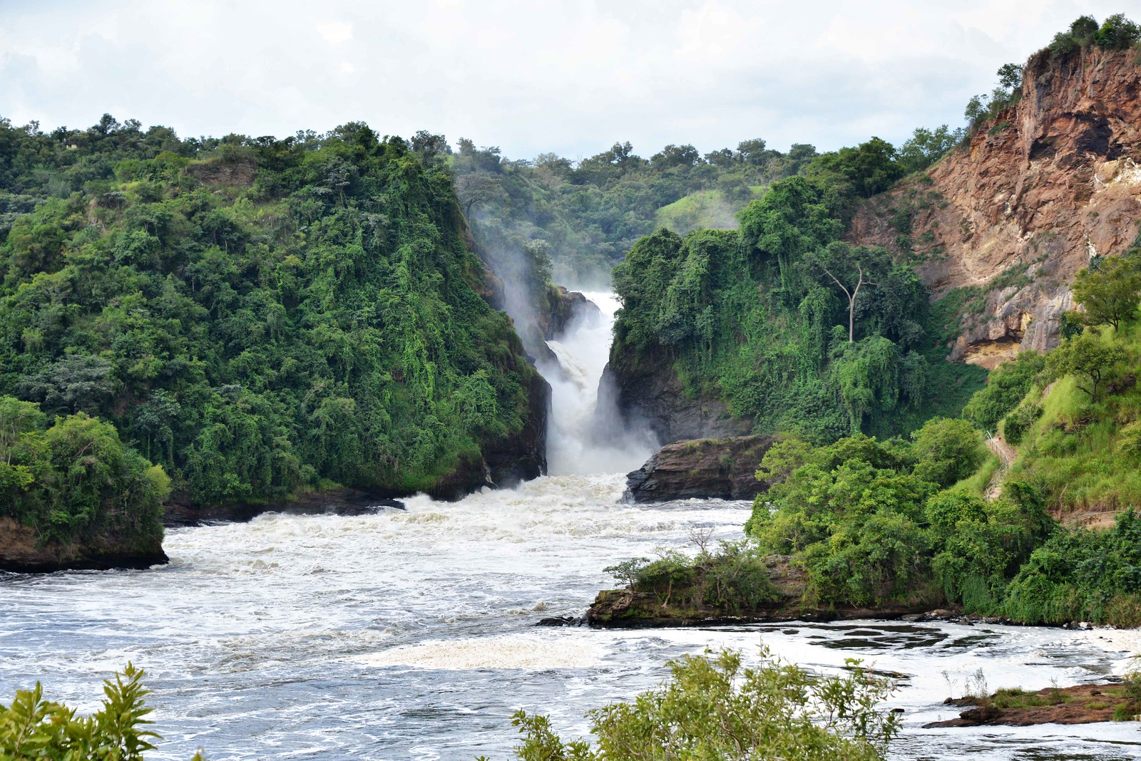 photo of Murchison Falls in Uganda