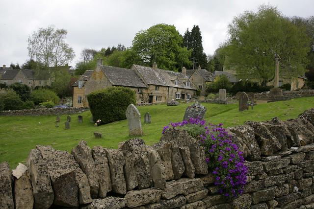 Snowshill Village & Churchyard