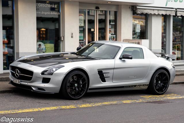 Mercedes SLS Last Edition
