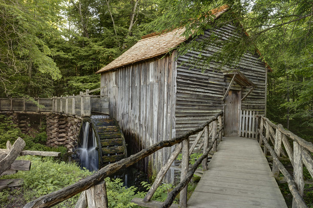Cable Mill, Cades Cove, Great Smoky Mountains National Park, Blount County, Tennessee