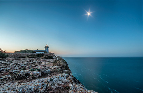 moon lighthouse mallorca sonnenaufgang leuchtturm mcjo