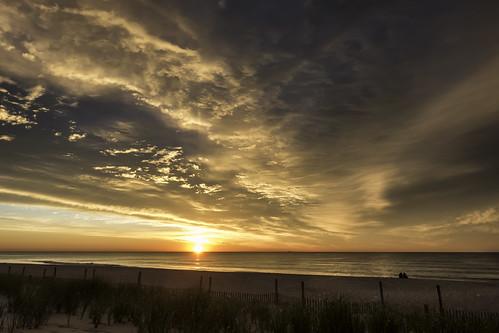 beach sunrise atlanticocean silhoutte seasidepark