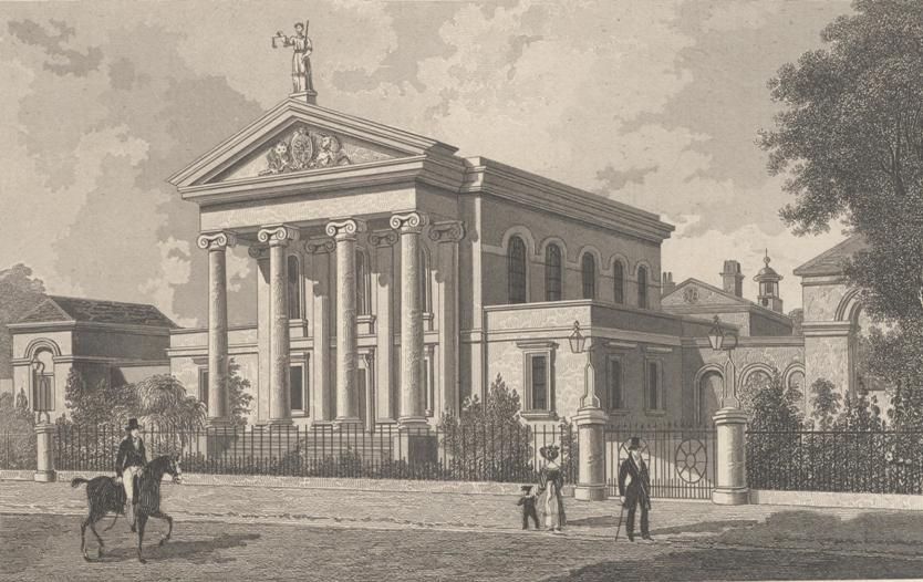 Sessions House, photograph of print 1830 (archive ref PH-4-6 )