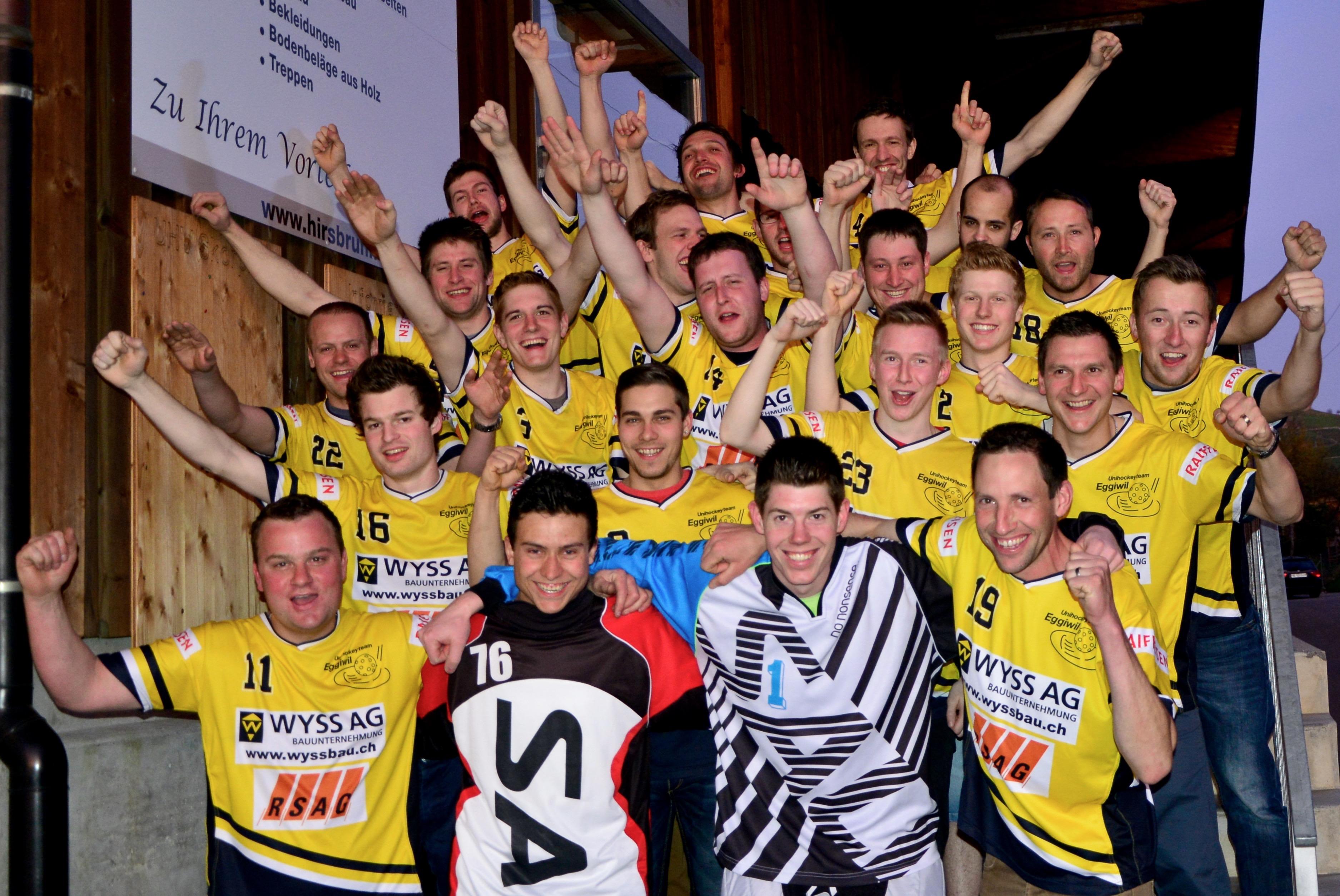 Verein - Apéro mit Herren II, U18 und Juniorinnen C Saison 2014/15