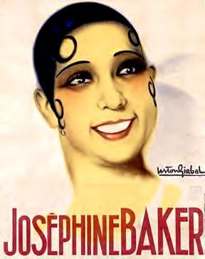 Josephine Baker AFFICHE