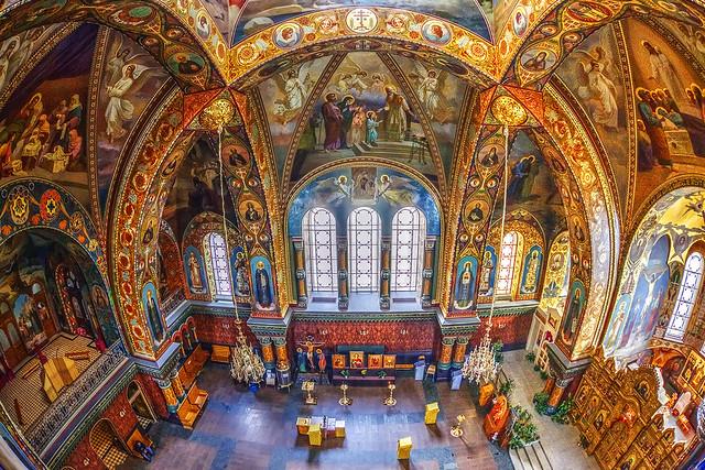St. Petersburg church of the Kiev Pechersk Lavra (now of the Optina Hermitage )