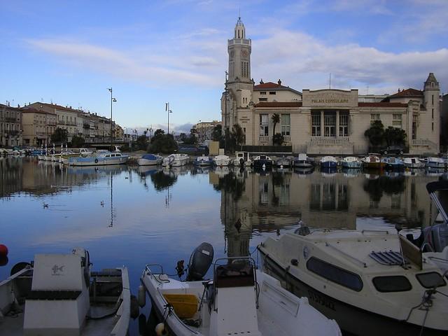 Sète - canal i esglèsia