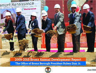 2009-2015 Annual Development Report Cover | by bronxbp