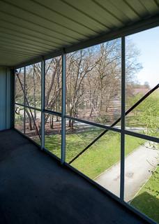 Belgium, Antwerp, 48 Orbino in the Middelheim open air sculpture museum by Luc Deleu