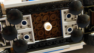 Lego Ghostbusters Ecto-1 Light Mod Keyfob   by M600
