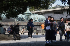 at the base of Daibutsu