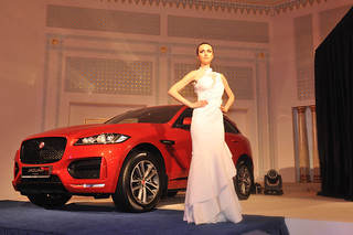 Jaguar F-PACE Launch Oman