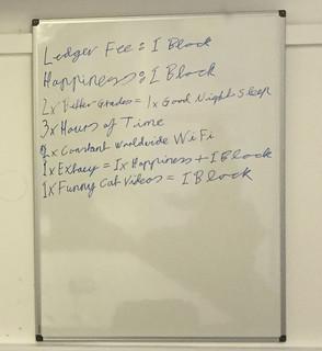 Written ledger