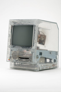 Apple Macintosh SE clear case prototype | by jimabeles