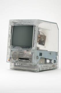 Apple Macintosh SE clear case prototype | by jimabeles