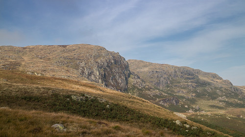 Castle Crag from the Garburn Pass | by johnkaysleftleg
