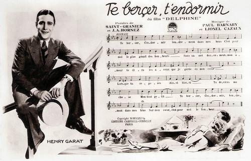 Henry Garat in Delphine (1931)