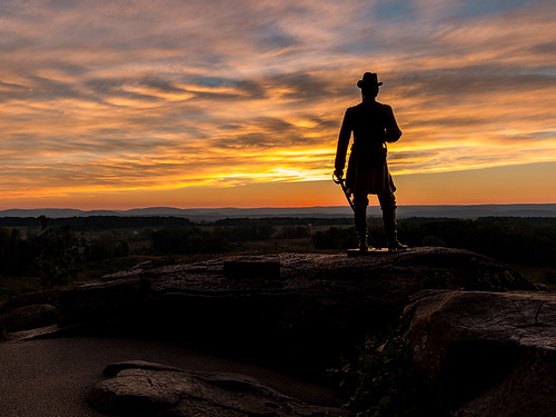 Places_Cheney_Jim_Little Round Top Sunset | by geosocietyphila
