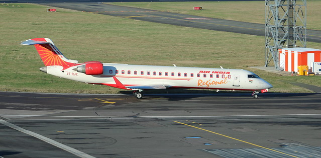 VT-RJE Bombardier CRJ700-701ER Air India Regional operated by Alliance Air