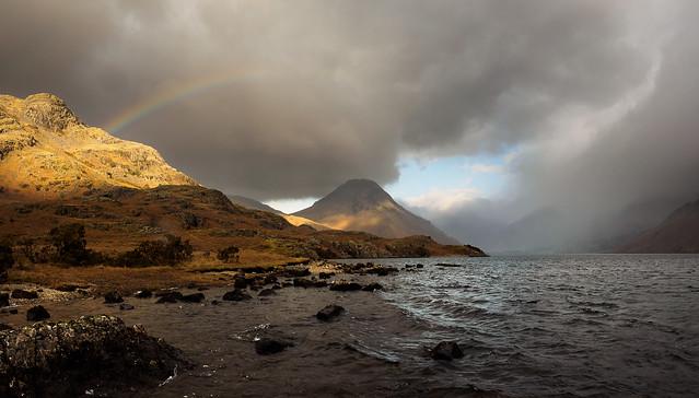 Middle fell rainbow